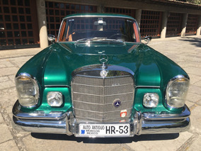 Mercedes Benz 220 Clasico (placas De Auto Antiguo)