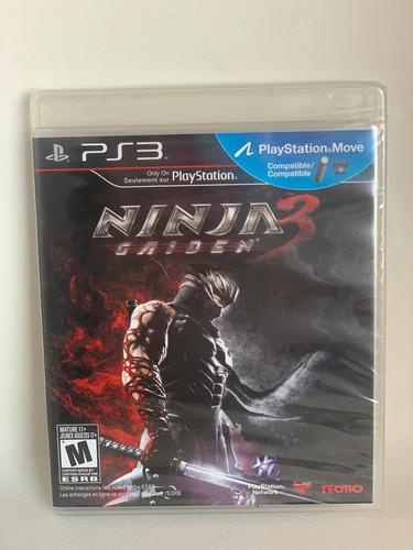 Imagem 1 de 2 de Jogo Ninja Gaiden 3 Ps3 Novo Lacrado Envio Imediato!!!