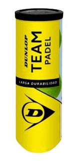 Tubo De Pelotas Dunlop Team Padel X 3 Balls