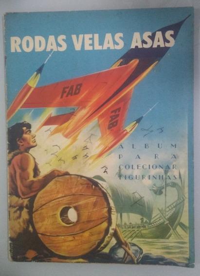 Album De Figurinhas Rodas Velas Asas 1960 Completo