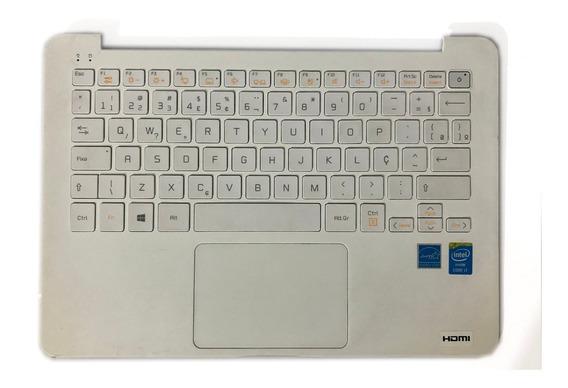 Teclado C/ Touchpad LG 13z940 14z950 Hmb8130elb35 Abnt2