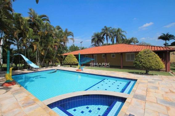 Chácara Com 5 Dormitórios À Venda, 2500 M² Por R$ 899.000,00 - Chácara Harmonia I - Itu/sp - Ch0023