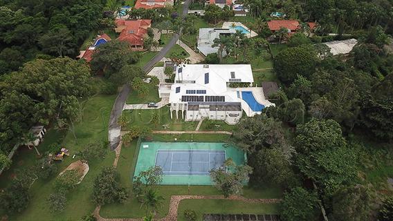 Park Way - Casa Mais Bela Da Região, Com 1200m², 5 Quartos, 3 Suítes E 2 Semi Suítes, Toda Mobiliada. - Villa114853