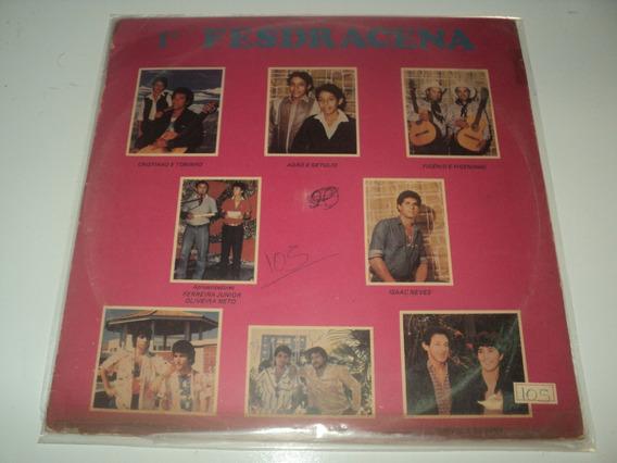 Discos De Vinil - 1º Fesdracena-1986-disco Raro