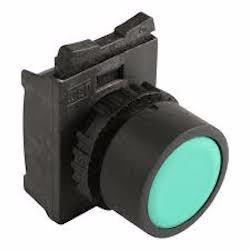 Botão Pulsador Verde + Flange Montagem Weg Csw-bf2+af3f