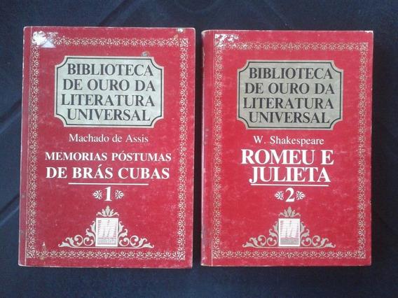 Lote 9 Livros Biblioteca De Ouro Da Literatura Universal