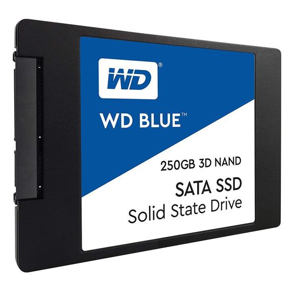 Disco Solido 250gb Wd Blue Ssd 2.5 Sata3 6gb/s Mexx 3