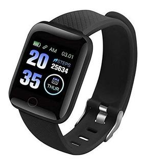 Smartwatch Reloj Inteligente App Notificacion Podometro 116s