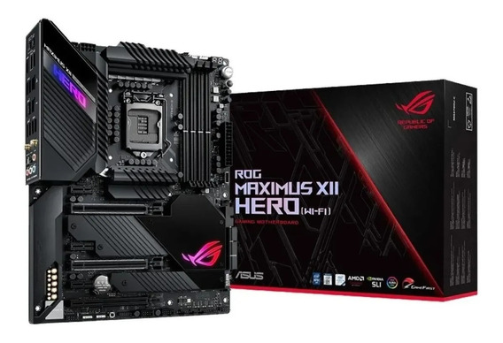 Motherboard Asus Rog Maximus Xii Hero Wi-fi Ddr4 10ma Z490