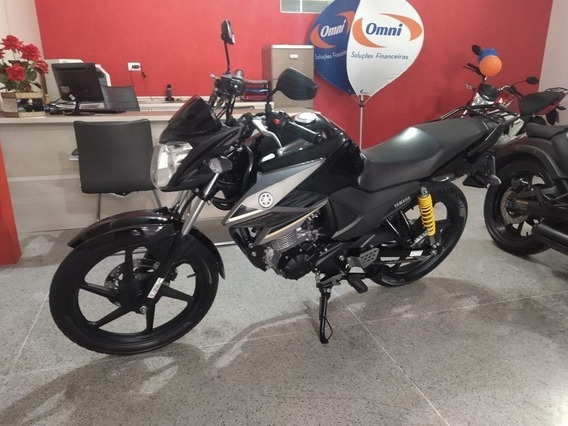 Yamaha Fazer Ys 150 Sed Preta 2018