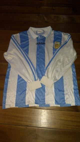 Camiseta De La Selección Argentina 1994 adidas Manga Larga
