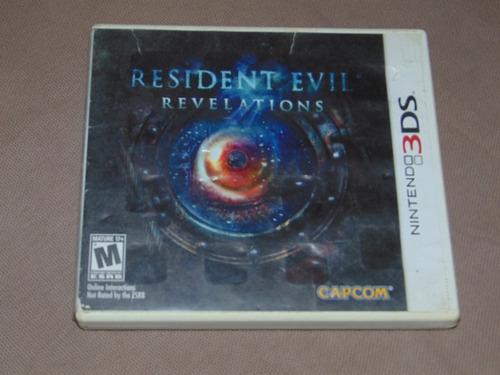 Resident Evil Revelations Juego De Nintendo 3ds Vendo