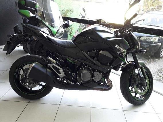 Kawasaki Z800 2014 Preta