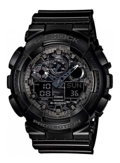 Relógio G-shock Anadig Ga-100cf-1adr Original + Frete