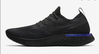 Tenis Nike Epic React Flyknit Blue Hombre Deportes y