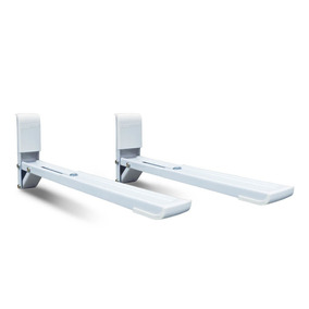Suporte Para Microondas Ajustável Branco - Brasforma Sbr 3.8