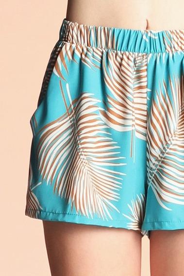 Short Ropa De Playa Piscina Pareo Salida Baño Bikini
