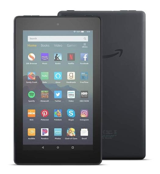 Tablets Kindle Fire 7 Hd 16gb 1gb Ram Wi-fi Dual Cam Black