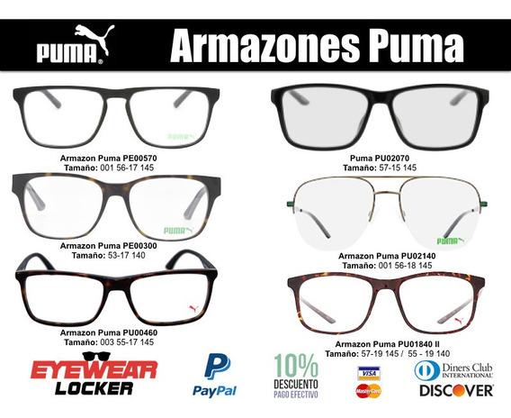 Marcos Para Hombre Y Mujer - Armazones Puma Originales
