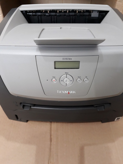 Impressora Lexmark E352dn Duplex Rede Cabos Toner Photo Revi
