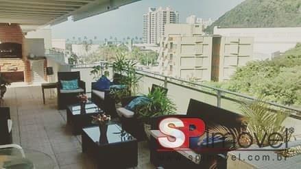 Apartamento Cobertura Para Venda Por R$550.000,00 - Jardim Tejereba, Guarujá / Sp - Bdi18940