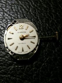 Maquina Relogio 17 Jewels Incabloc Masson Swiss Made