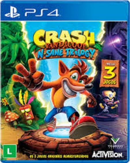 Crash Bandicoot N. Sane Trilogy-ps4-psn-original 1 - Digital