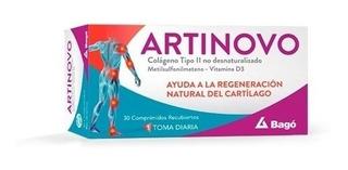 Artinovo Regeneración Natural Del Cartílago Colageno 30 Comp