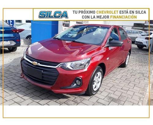 Chevrolet Onix Plus Ls 2021 Rojo 0km