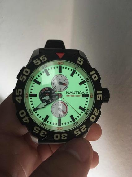 Relógio Náutica Fluorescente