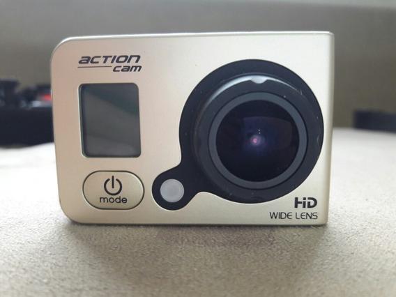 Câmera Ação Subaquática Action Câmera 12mp, 1080p, Wifi.
