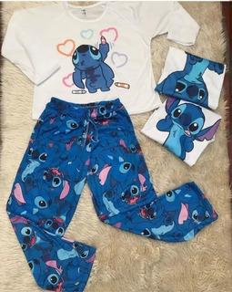 Pijama Conjunto Simpson Frida Kahlo Ropa Para Dormir Mujer.