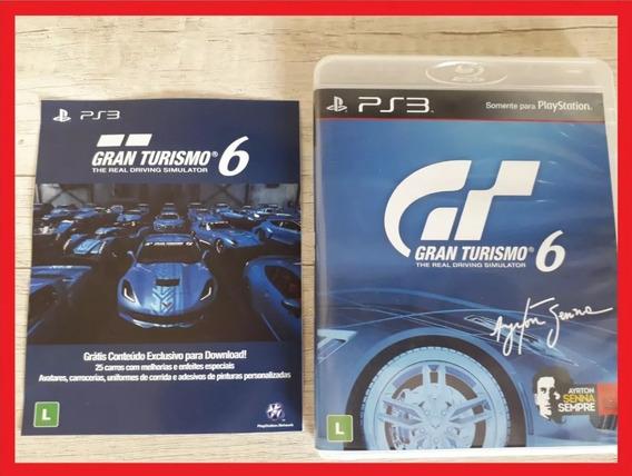 ( Frete R$ 9,90 ) Gran Turismo 6 Português Ps3 Play Corrida