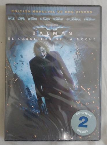 Imagen 1 de 2 de Dvd Batman El Caballero De La Noche - 2 Discos - Original!!