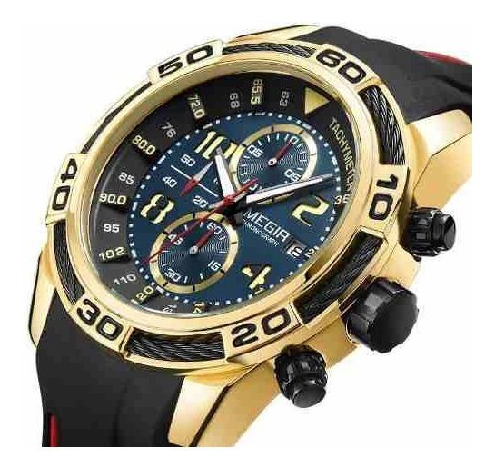 Relógio Masculino Megir 2045 Original Presente - Luxo - Top