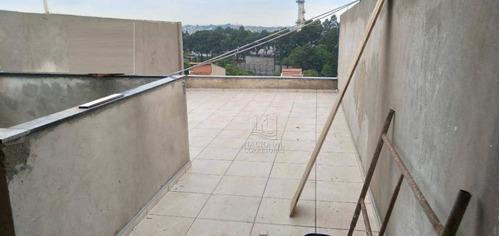 Imagem 1 de 20 de Cobertura À Venda, 100 M² Por R$ 310.000,00 - Jardim Ana Maria - Santo André/sp - Co4671