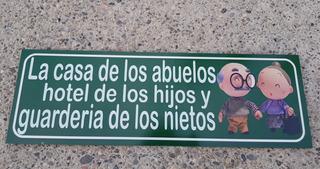 La Casa De Los Abuelos Hotel Cuadro Cartel 15 Cm X 46 Cm