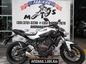 Yamaha Mt 07 Abs 2018 Branca Estado De Zero!!!