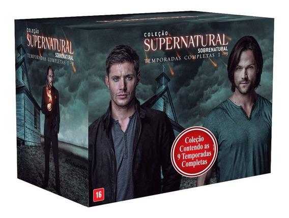 Box Supernatural 9 Temporadas Novo Lacrado Promoção