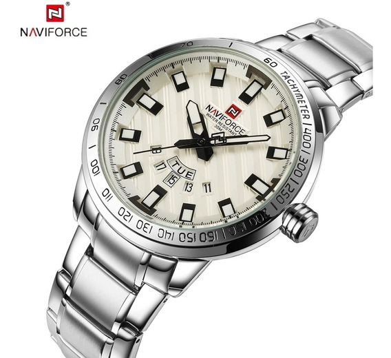 Relógio Masculino Homens De Negocio Navi Luxo Original Promo