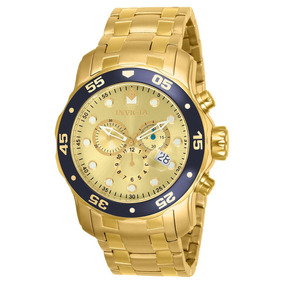 Relógio Invicta Pro Diver-80068 - Cor Dourado