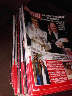 Lote 22 Revistas ¡ Hola ! 2015