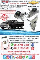 Reparación De Bomba De Agua Automotrices Chevrolet
