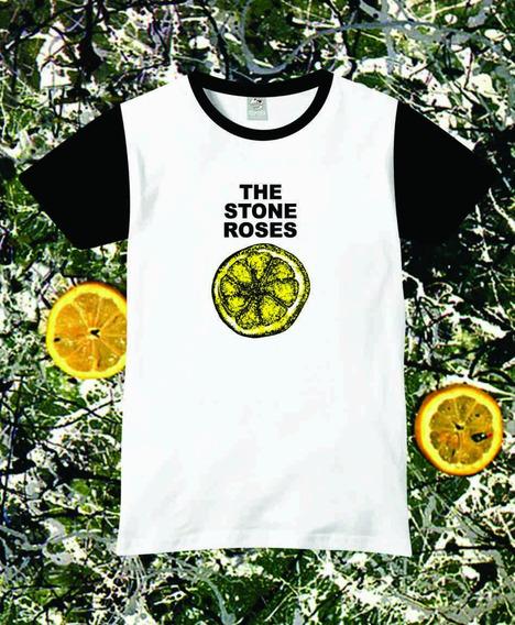 Reptilia Remeras Rock The Stone Roses (código 02)