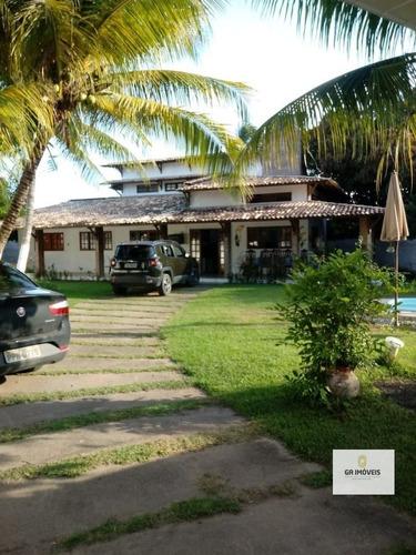Imagem 1 de 14 de Casa Com Piscinacond. Fechadobarra De Santo Antônio4 Quartos2 Suítes10 Vagas400 M²só 500 Mil - 1008