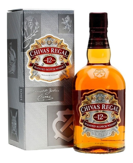 Whisky Chivas Regal 12 Años 750 Ml.