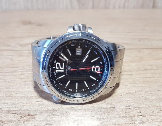 Vendo Relógio Masculino Swiss Legend Gmt World Timer