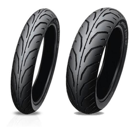 Kit Cubiertas Dunlop 275-18+300-18 Tt900 Honda Cb1
