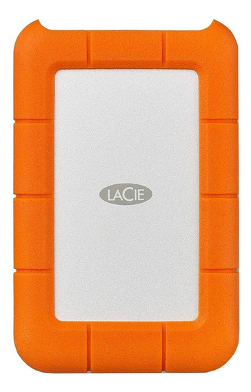 Disco rígido externo LaCie Rugged STFR4000800 4TB laranja