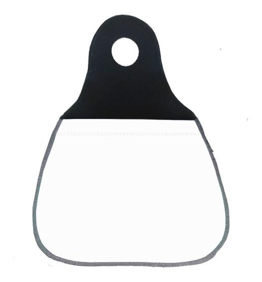 Kit 10 Lixinhos Para Carro Branco Sem Estampa P/ Sublimação